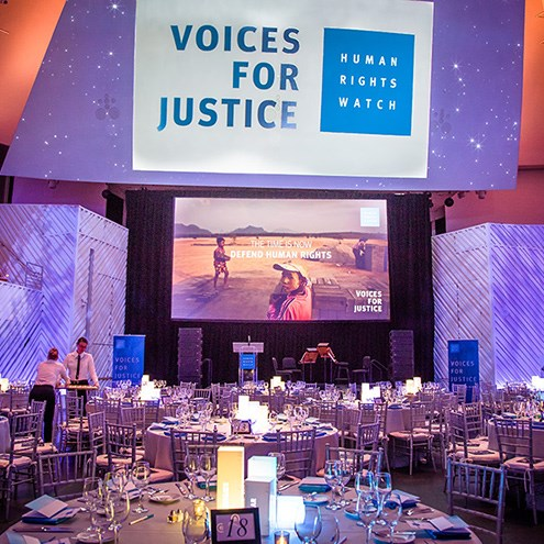 Human Rights Watch hosts Miami gala at New World Center