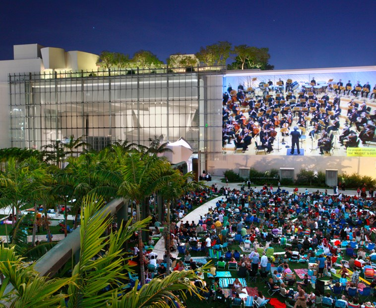 WALLCAST® Concerts and Park Events