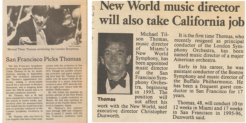 1993 press clippings