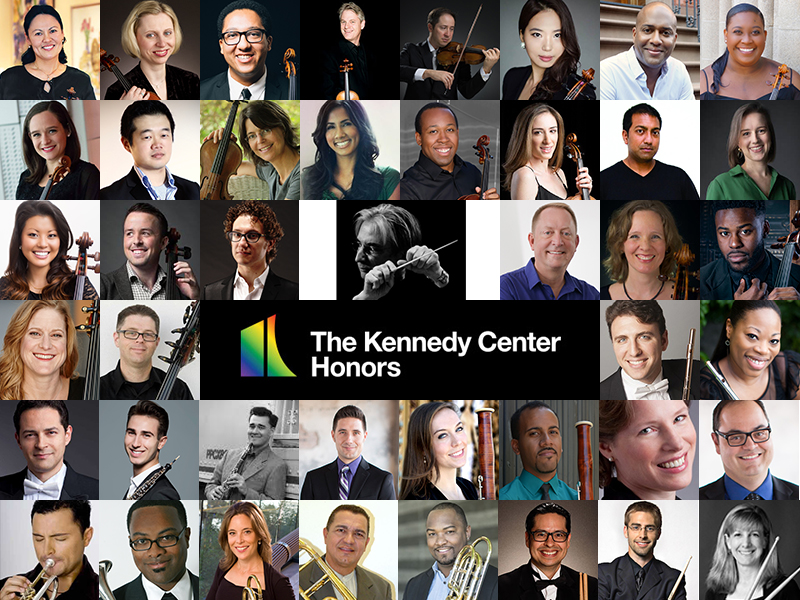 Alumni Orchestra for Kennedy Center Honors