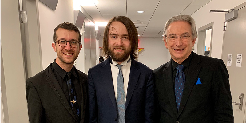 Chad with MTT and Daniil Trifonov