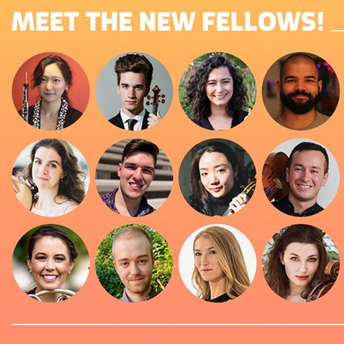 Meet the new Fellows for 2020-21 season