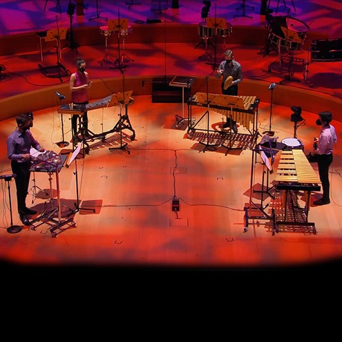 Percussion Consort showcases world drumming traditions