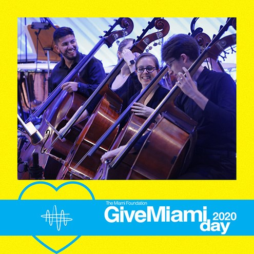 Support New World Symphony on #GiveMiamiDay, Nov. 19