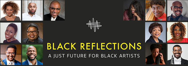 Black Reflections panelists